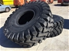 2 x Unused 26.5-25 Earthmoving Tyres