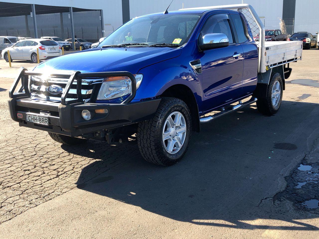 2012 Ford Ranger XLT 3.2 (4x4) PX Turbo Diesel Manual Ute