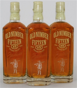 Old Number Fifteen Bourbon Whisky (3 x 7
