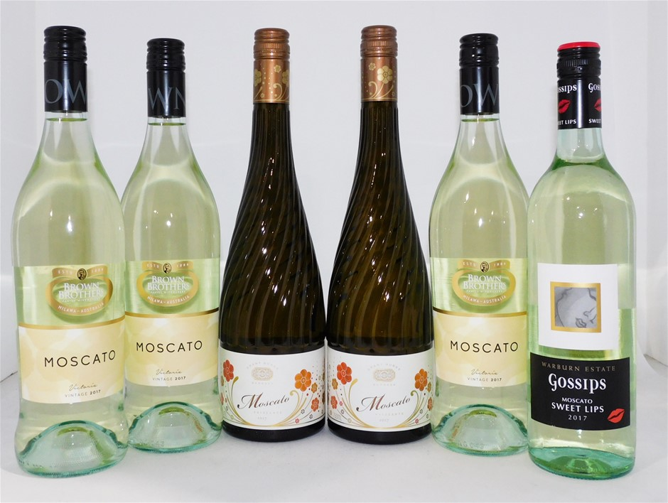 Pack of Assorted Moscato (6 x 750mL)