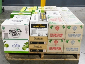 Pallet of Approx 26 Cases of Assorted Ci