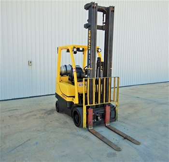 Hyster S50FT 4 Wheel Counterbalance Forklift