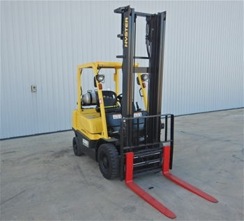 Hyster H2.5TX 4 Wheel Counterbalance Forklift