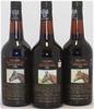 Yalumba `Thoroughbred Vintages` Port 1980/81/82 (3x 750ml), SA. cork