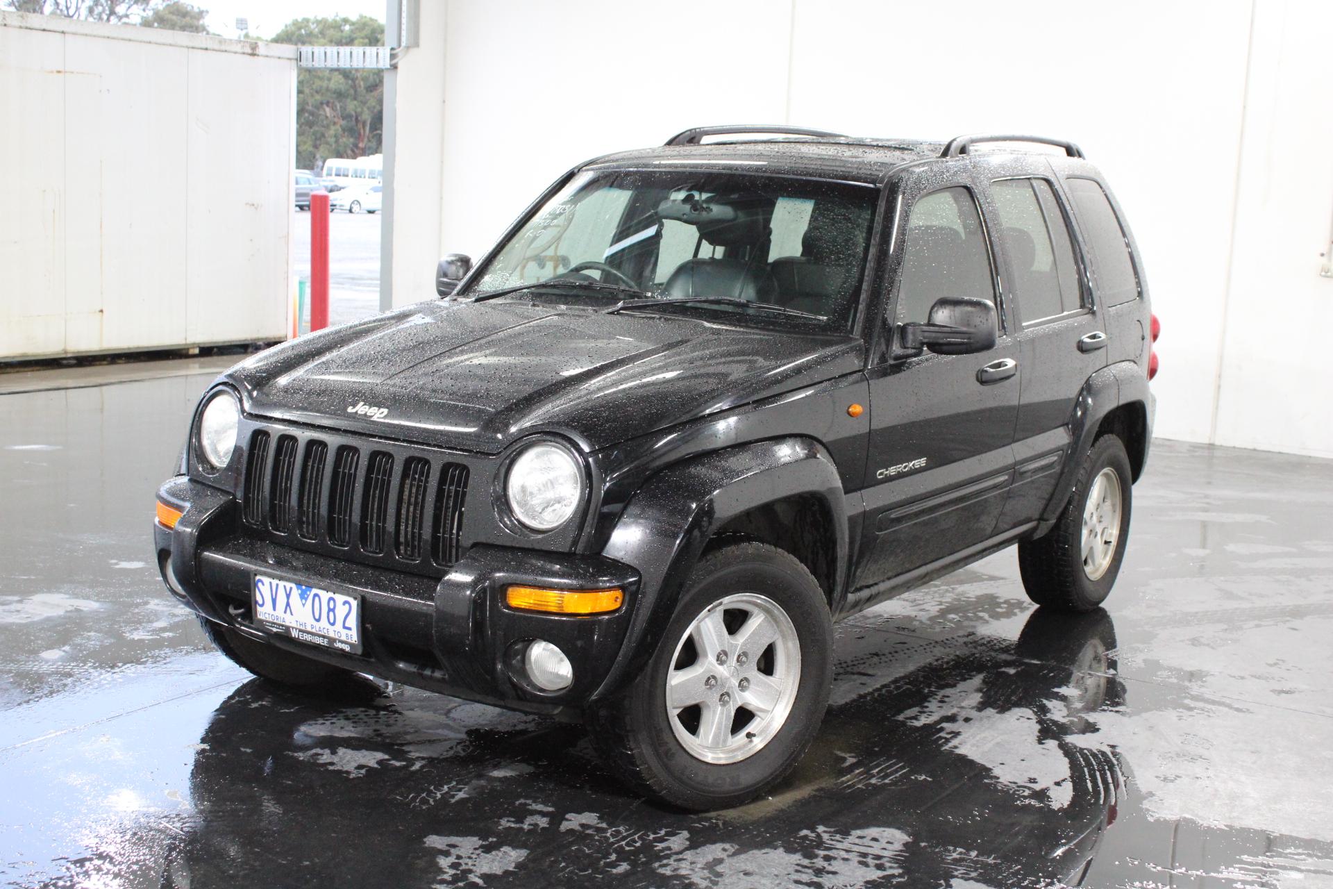 2004 Jeep Cherokee Limited (4x4) KJ Automatic Wagon