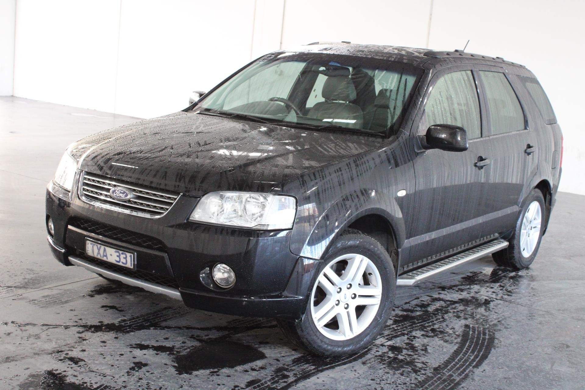 2005 Ford Territory Ghia (RWD) SY Automatic Wagon