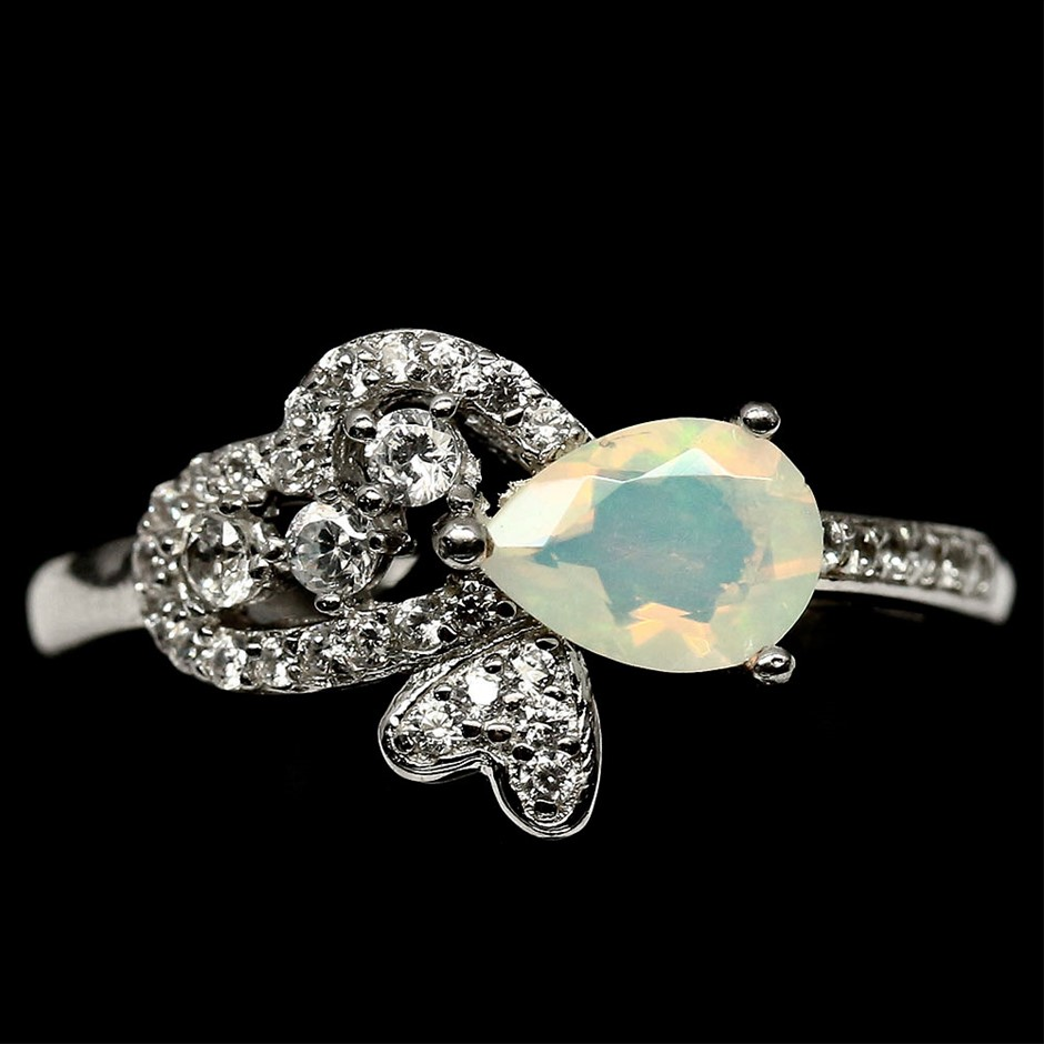 Beautiful Natural Opal Ring