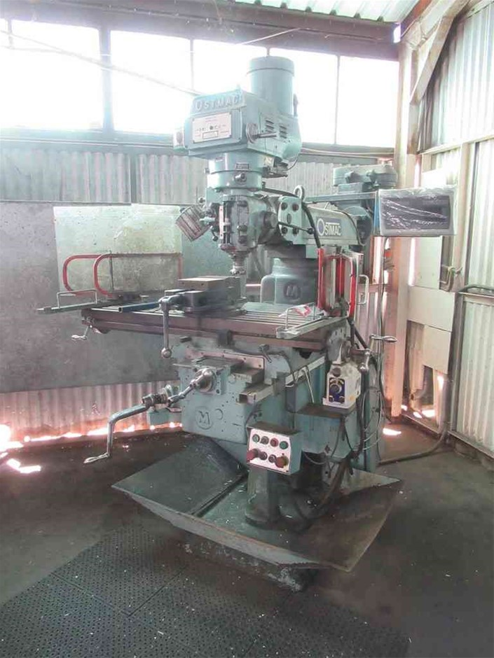 Ostmac KR-V3000 Milling Machine