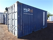 JKC Australia - 20' Shipping Containers & Walkway Shelters