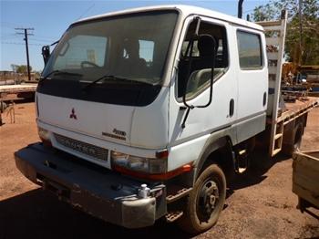 2003 Mitsubishi Canter 4 x 4 Dual Cab Truck