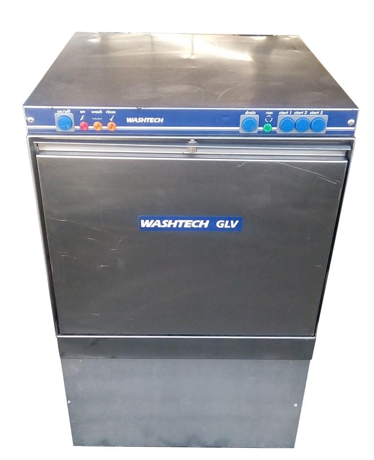 WASHTEC GLV UNDERCOUNTER DISHWASHER STAINLESS STEEL CONSTRUCTION <l