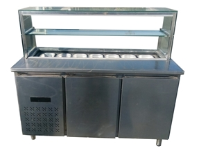 ICEBLUE PREPARATION FRIDGE WITH 2 DOOR U