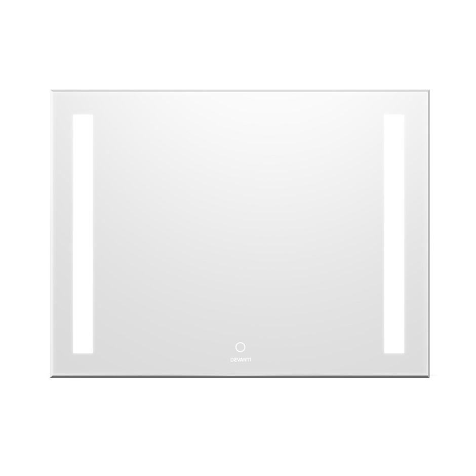 Devanti Bathroom Wall Mirror LED Light Makeup Beauty Dressing Vanity 800mm