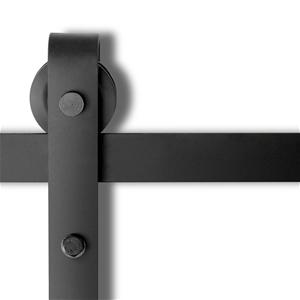 Sliding Barn Door Hardware - Black