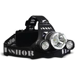 Weisshorn 4 Modes LED Flash Torch Headla