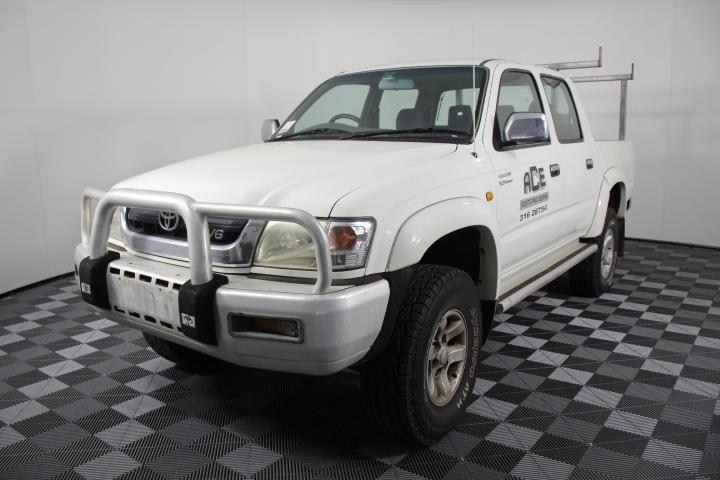 2004 Toyota Hilux SR5 4WD Auto 216,900 km's(WOVR)Passed
