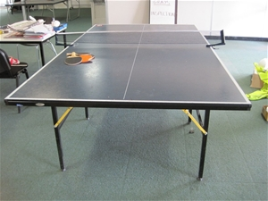 1 sportivo divinci fold up table tennis table auction - Folding table tennis tables for sale ...
