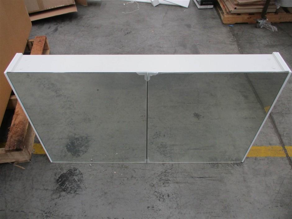 Frederic DM120 2 Door Mirror Cabinet