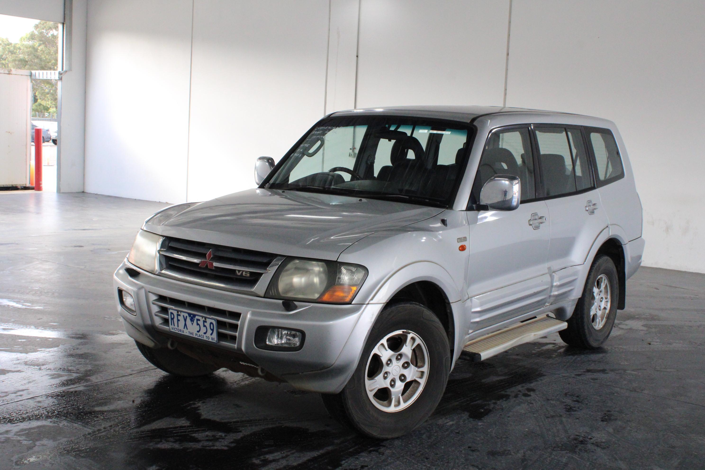2001 Mitsubishi Pajero GLS LWB (4x4) NM Automatic 7 Seats Wagon