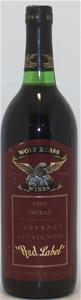 Wolf Blass `Red Label` Shiraz Cabernet S