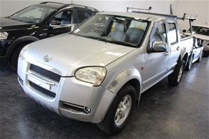2010 Great Wall V240 4X4 Manual Dual Cab