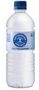 Cottonwood Spring Water 24 x 600ml