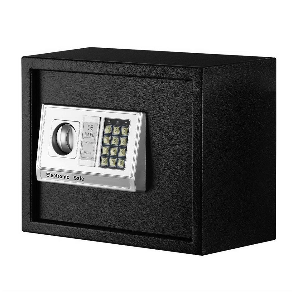 UL-TECH Electronic Digital Safe Security Box Home Office Cash Deposit 20L