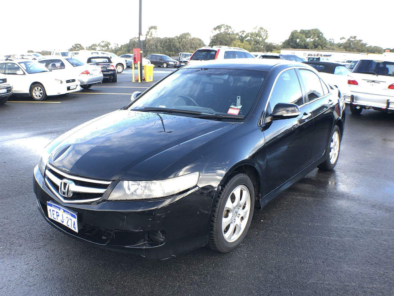 2007 Honda Accord Euro 7th Gen Automatic Sedan