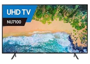SAMSUNG 65 inch TV Model UA65NU7100W. Co