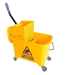 20L Deluxe Mop Wringer Bucket Side Press
