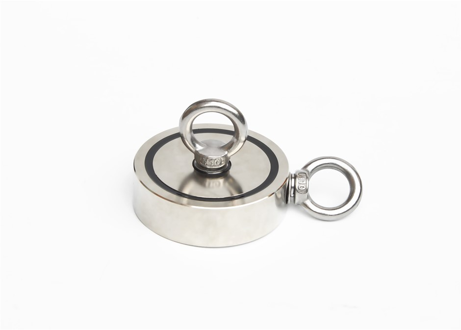 400Kg Salvage Strong Recovery Magnet Neodymium Hook Hunting Fishing