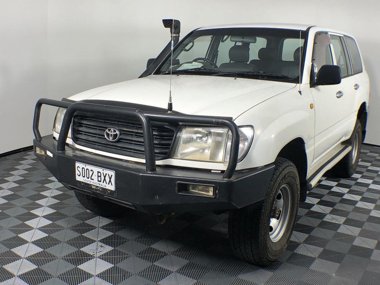 1998 Toyota Landcruiser (4x4) Manual Wagon