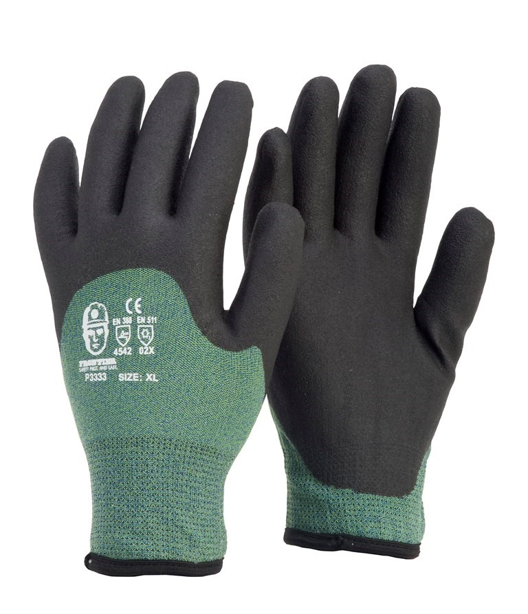 6 x Pairs Heavy Duty Latex Gloves, Comprising Sizes: M/L, Fleeced Lined. Bu