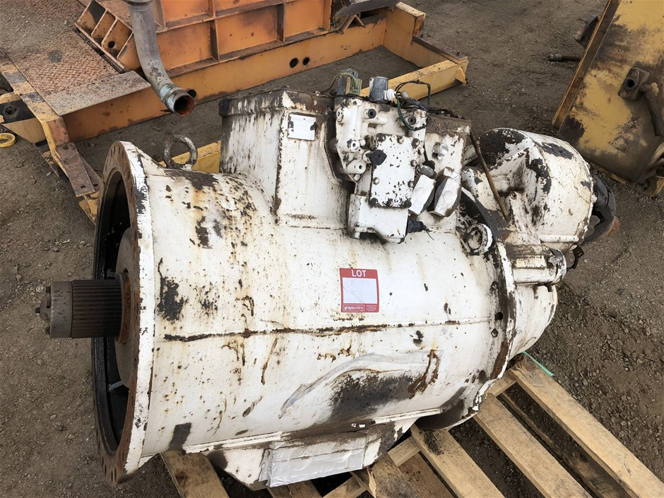 Caterpillar 784/85 dump truck transmission