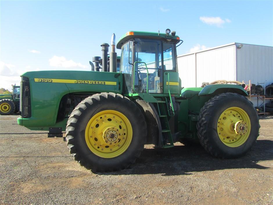 John Deere 9100 Tractor