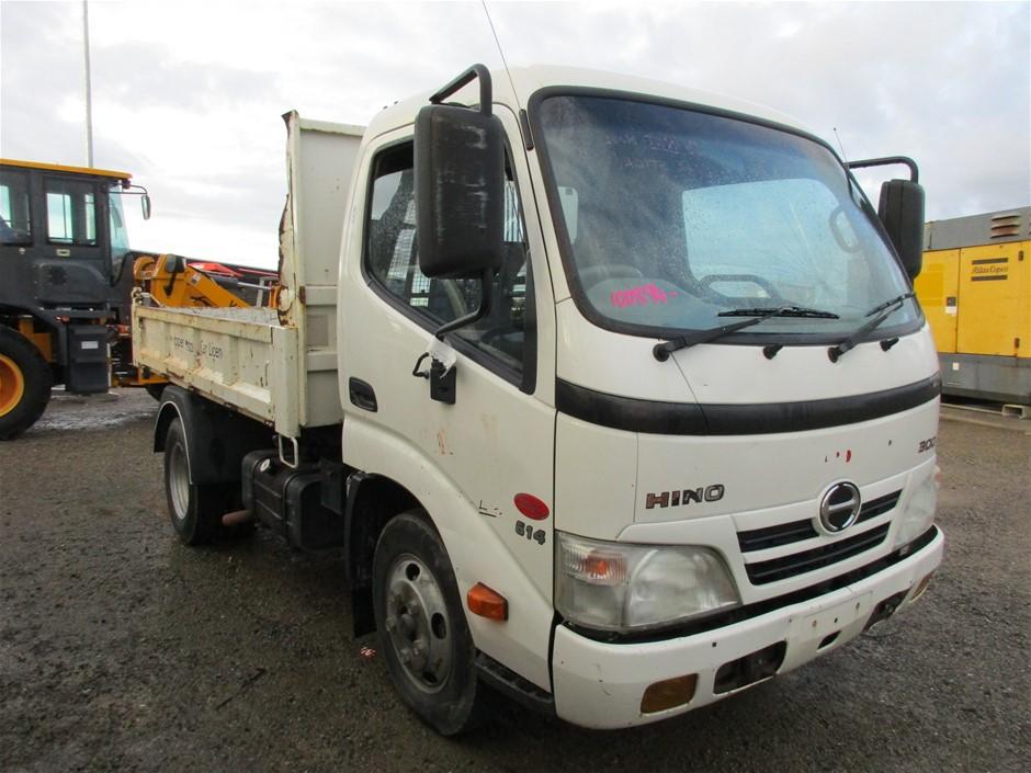 2011 Hino 300 Tipper Truck