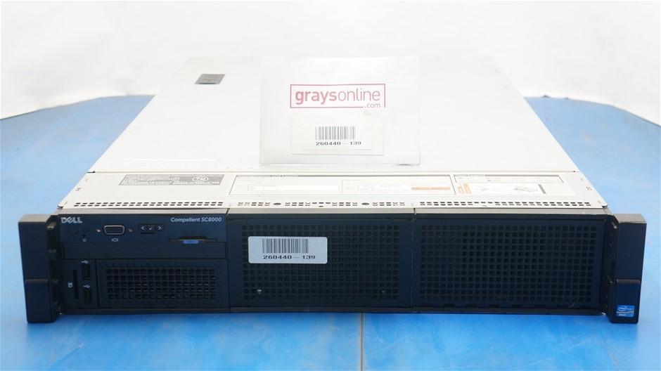 Dell Inc Compellent SC8000 Rackmount Server