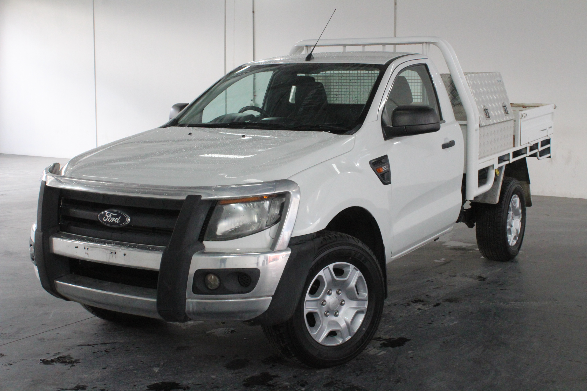 2012 Ford Ranger XL 3.2 (4x4) PX Turbo Diesel Manual Cab Chassis