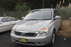 2012 Kia Grand Carnival S VQ Automatic 8