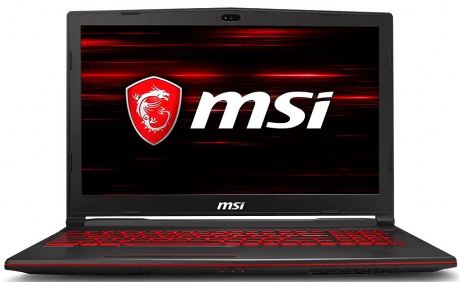 "MSI GL63 8RD-029AU 15.6"" FHD/i7-8750H/16GB/128GB SSD/1TB HDD/GTX1050 Ti 4GB"