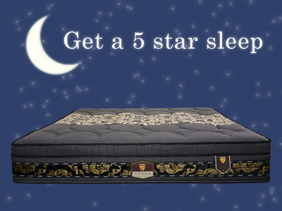 Black Edition AIRSOFT Slumber King Mattress - Commercial Grade