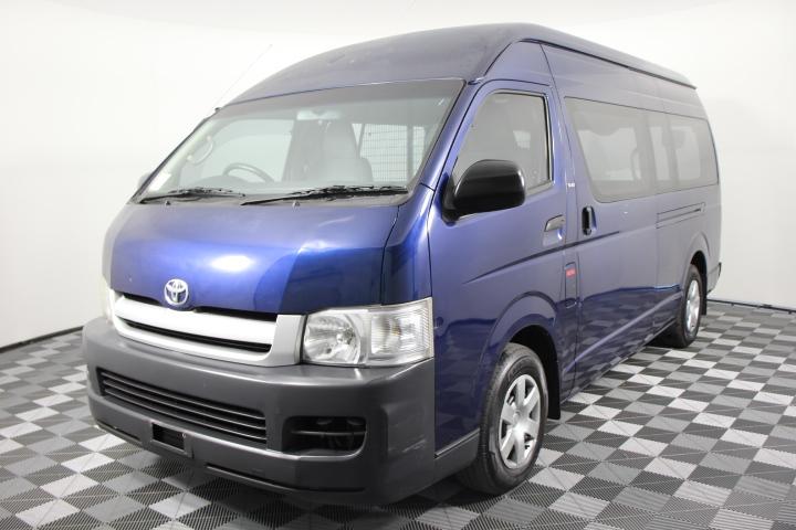 2007 Toyota Hiace Commuter SLWB Turbo Diesel Automatic Van