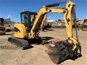 Unreserved Caterpillar Excavators, Rollers, Forklifts & more