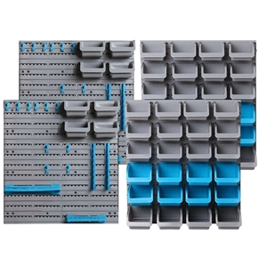 Giantz 88 Parts Wall-Mounted Storage Bin
