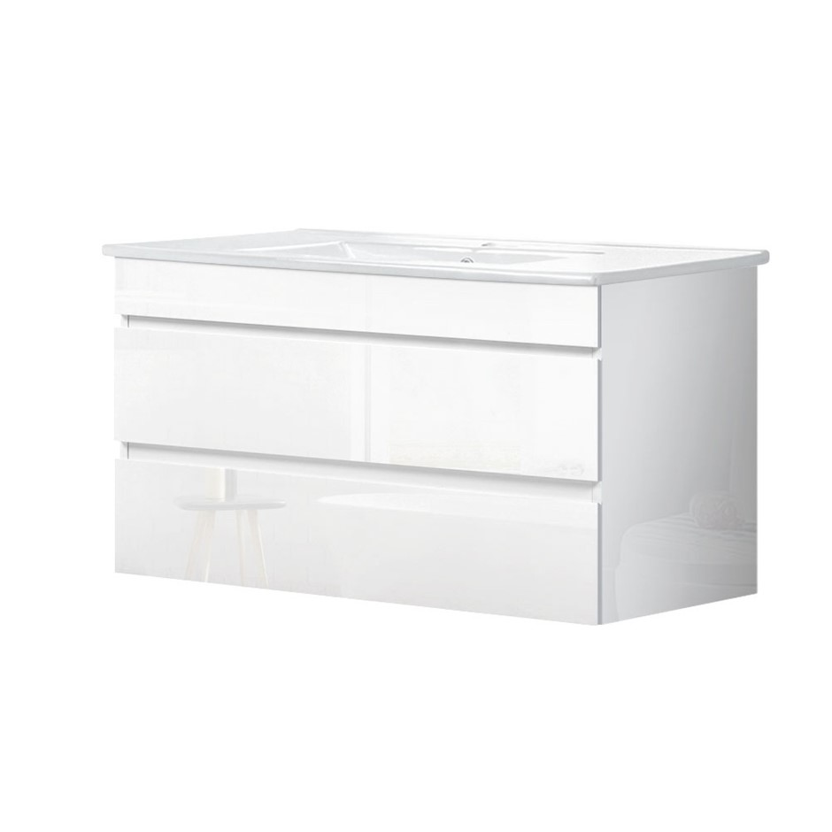 Cefito 900mm Bathroom Vanity Cabinet Basin Unit Wash Sink Wall Mounted