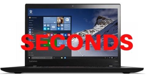 Lenovo ThinkPad T460s 14-inch Notebook, Black