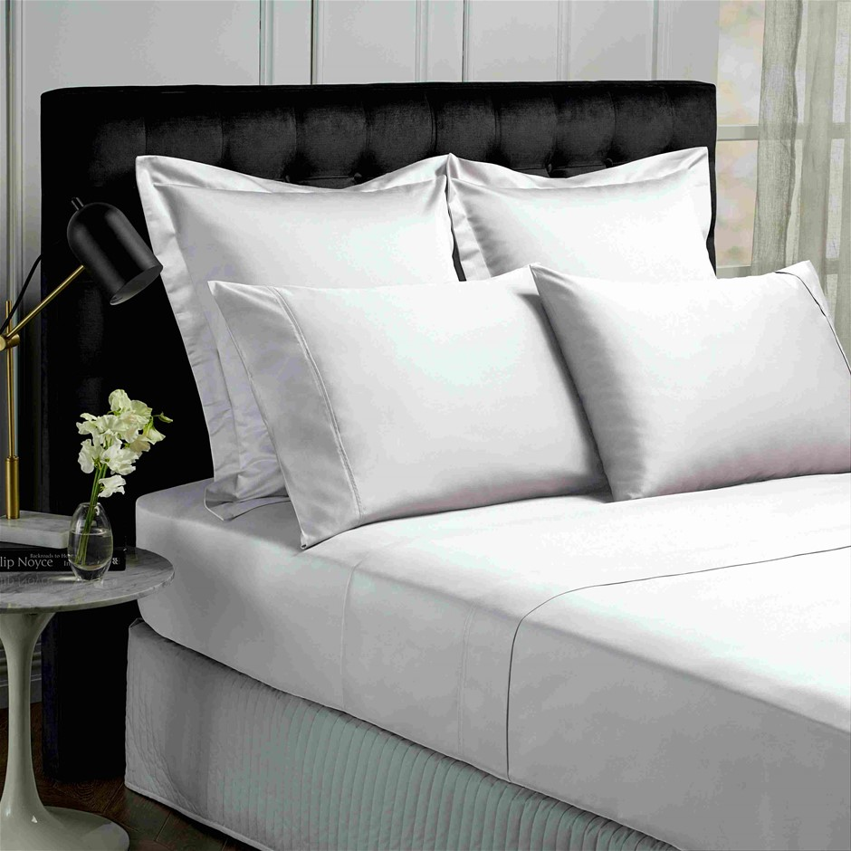 Park Avenue 500 Thread count Cotton Bamboo Sheet Set - Queen - White