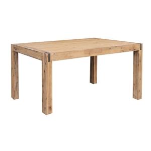2.1m Long Dining Table Oak
