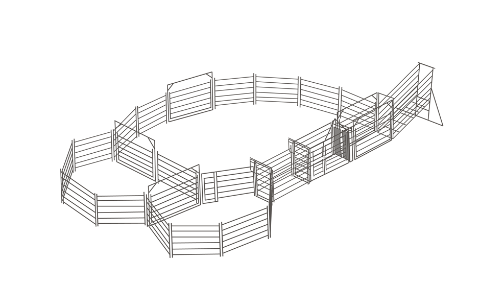 second hand cattle yards for sale | Graysonline