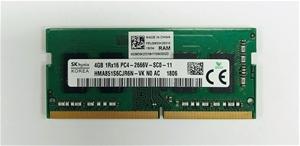 SK-hynix 4GB DDR4 PC4-2666V SO-DIMM Sing